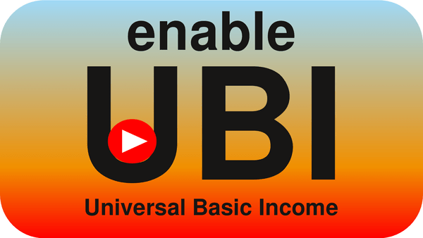 UBI Universal basic income UBI is becoming increasingly necessary, but is not compatible with the current system. Creating the foundations of a UBI compatible society.